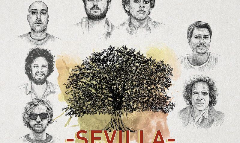 Taburete Sevilla.Cartel Taburete Concierto Sevilla Proexa
