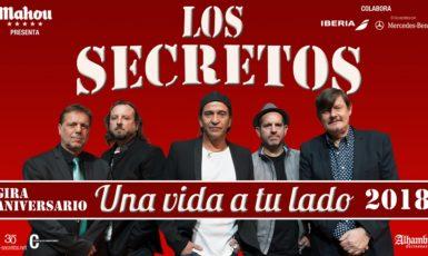 Se ve imagen de Los Secretos gira Una vida a tu lado concierto Granada